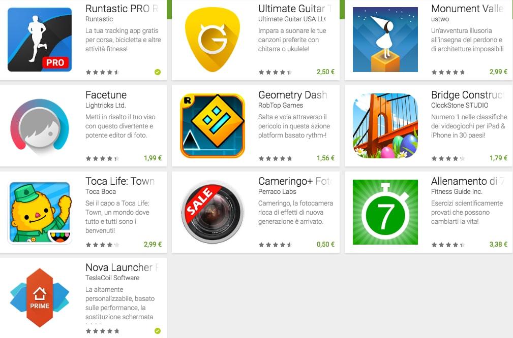 Avrete ben il 90% di sconto su queste app e giochi, se siete clienti Vodafone!