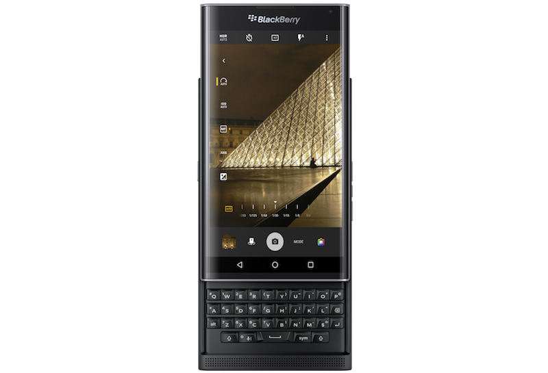 Fotocamera e tastiera di BlackBerry Priv si aggiornano, con modalità manuale e scorciatoie utili