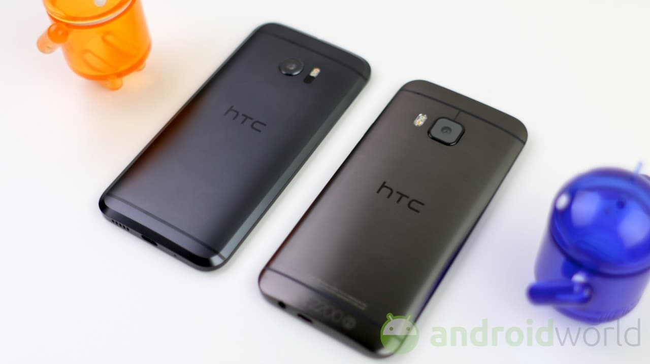 Confronto HTC 10 - HTC One M9