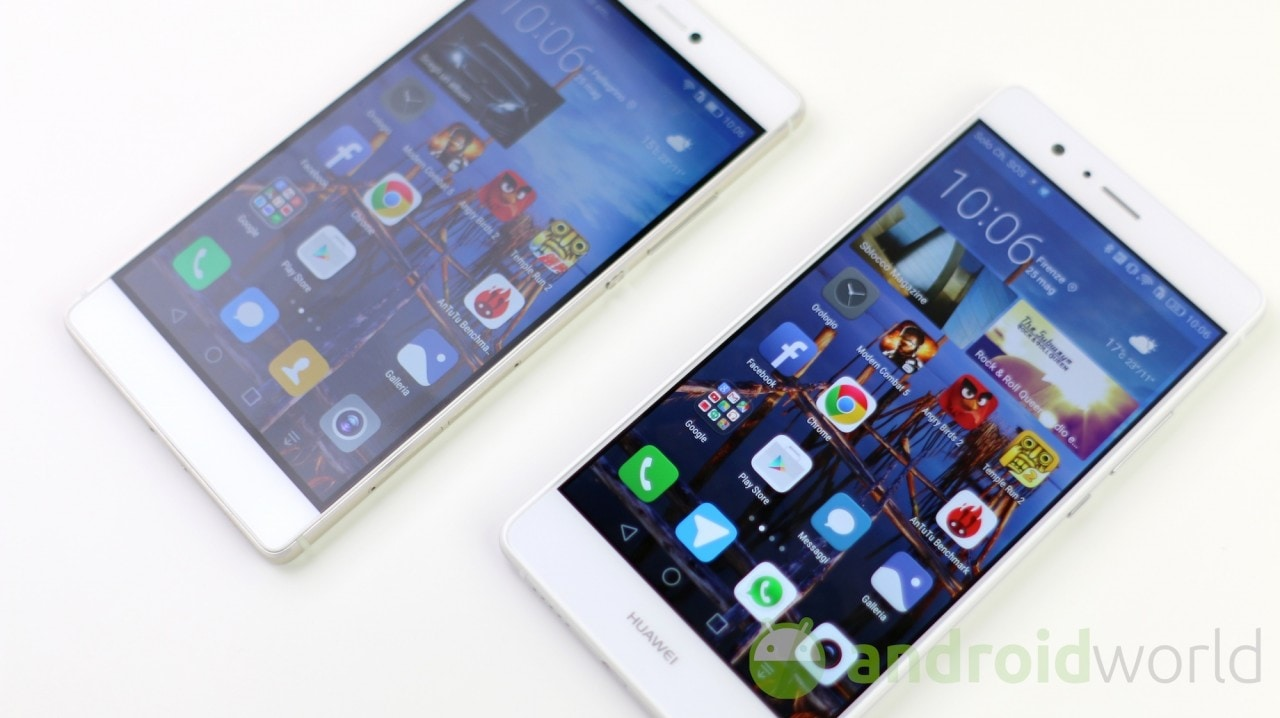 Confronto Huawei P8 Huawei P9 Lite Androidworld