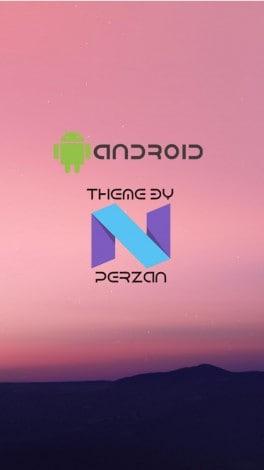EMUI tema Android N - 1