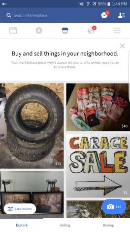 Facebook Marketplace - 1