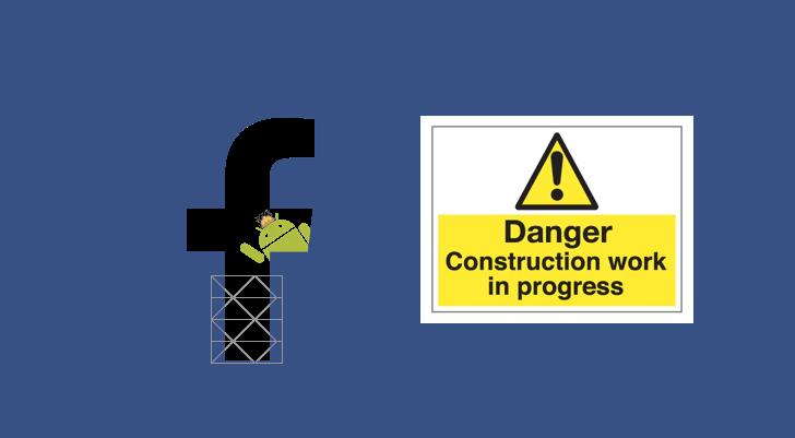 Facebook test interfaccia