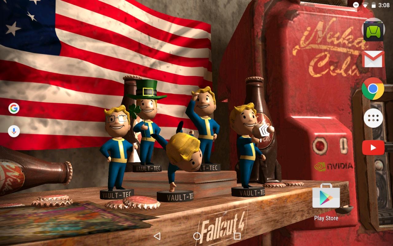 Scaricate gratuitamente il nuovo wallpaper animato di Fallout 4!