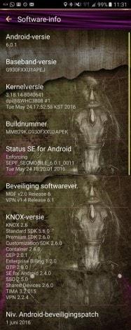 Galaxy S7 aggiornamenti sicurezza giugno 2016