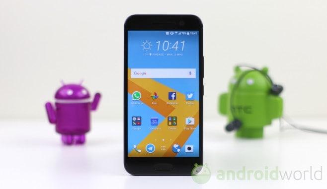 HTC 10 - 12
