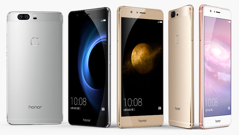 Honor 8 smartphone zeiss