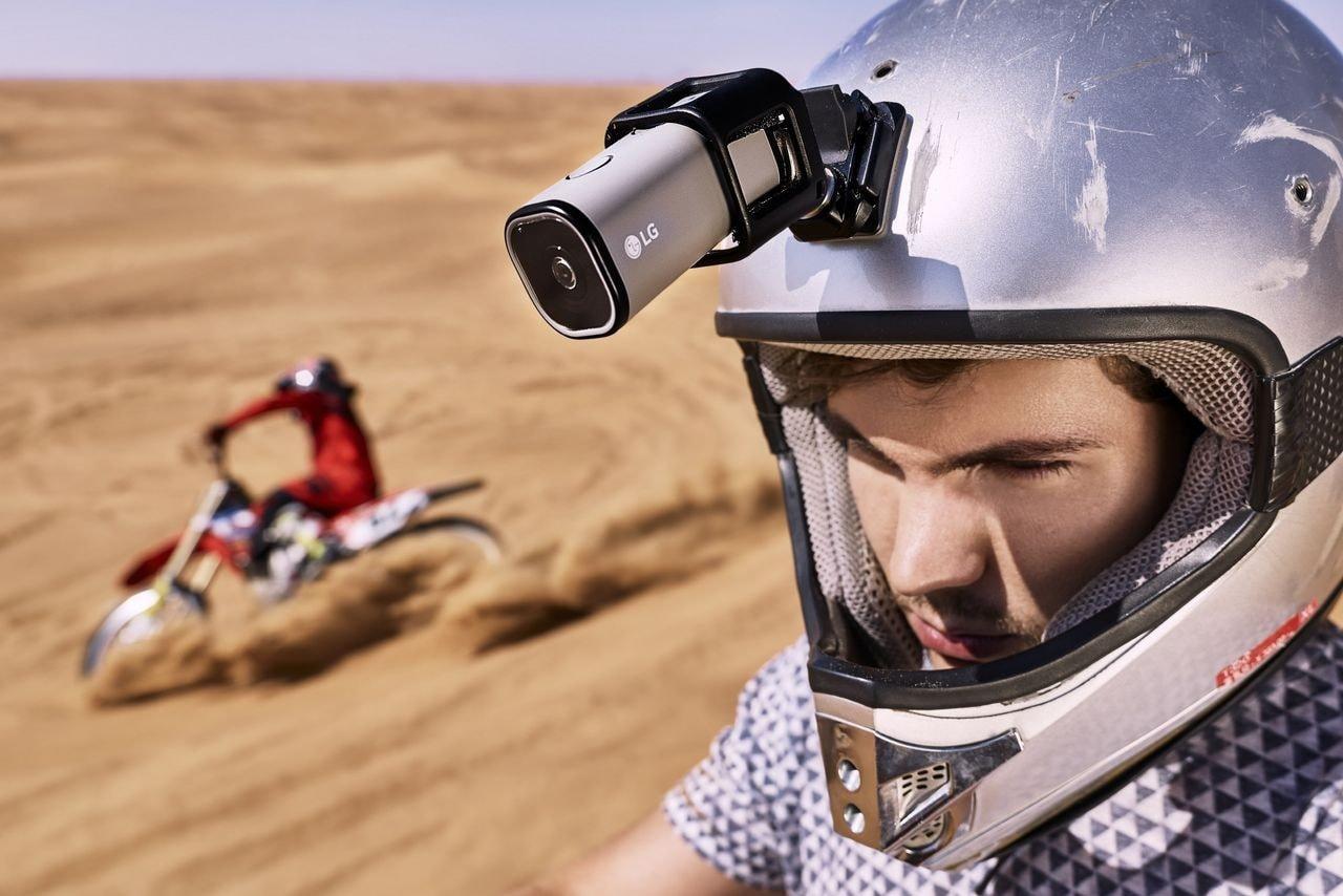 L'action cam di LG vi manda in diretta su YouTube con un modem LTE (foto) (aggiornato)