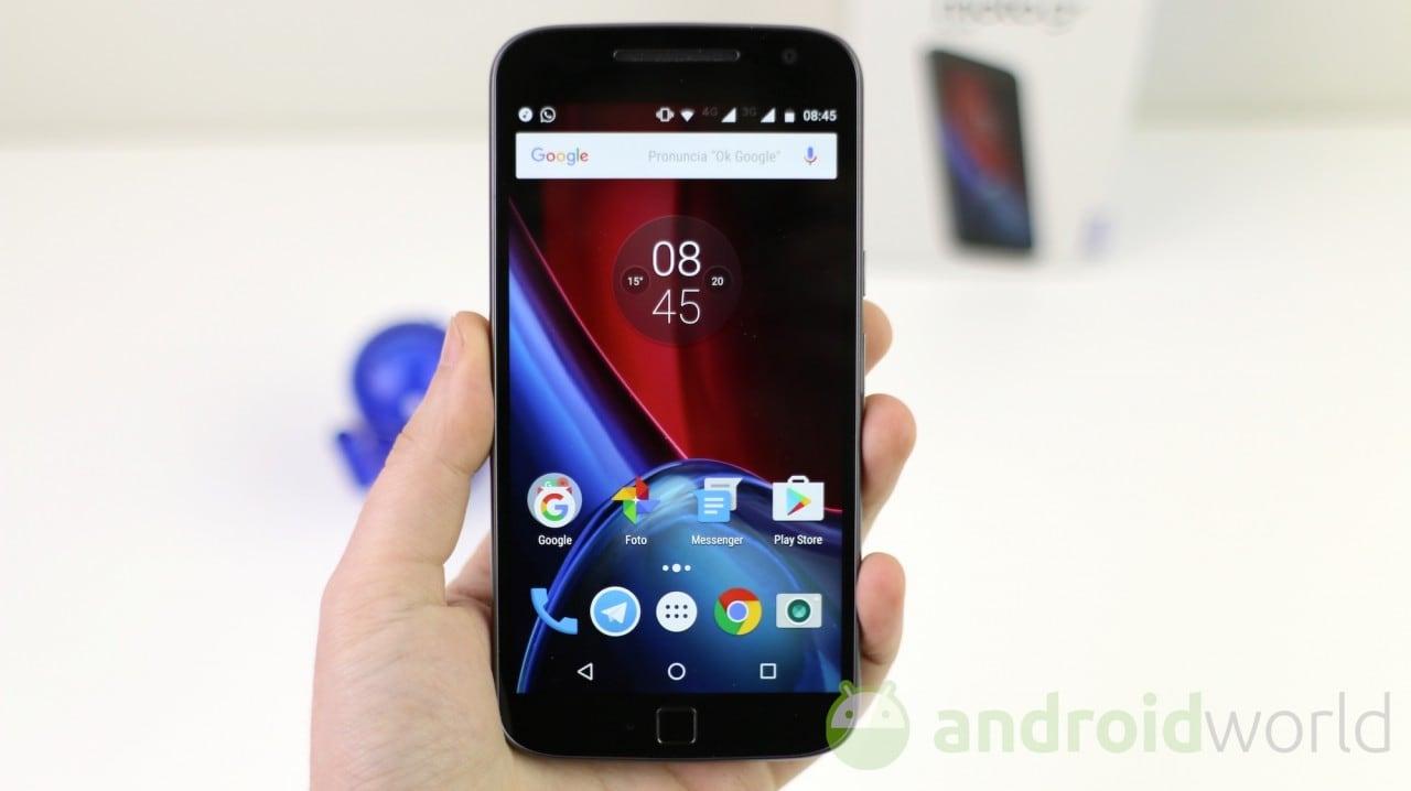 Moto G4 Plus inizia il suo cammino verso Android Oreo: al via i test in Brasile
