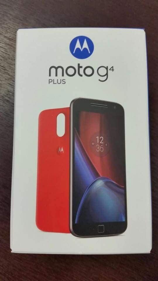 Moto G4 Plus confezione – 1