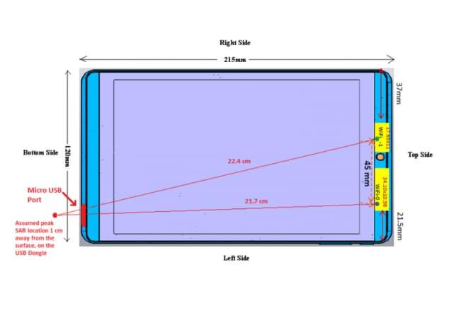 NVIDIA Shield Tablet (2016) - bozzetto