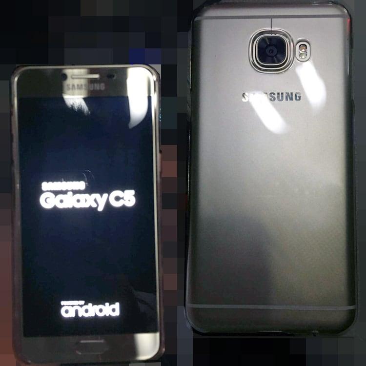 Galaxy C5? Avrà il case in metallo, ed ecco le foto che lo dimostrano (foto)