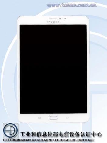 Samsung-Galaxy-Tab-S3-8.0 - TENAA - 1
