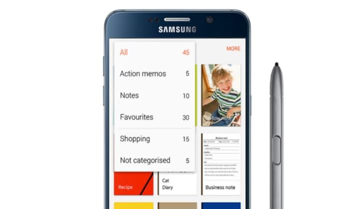 Samsung S Note
