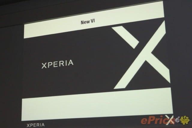 Slide Xperia X - 1