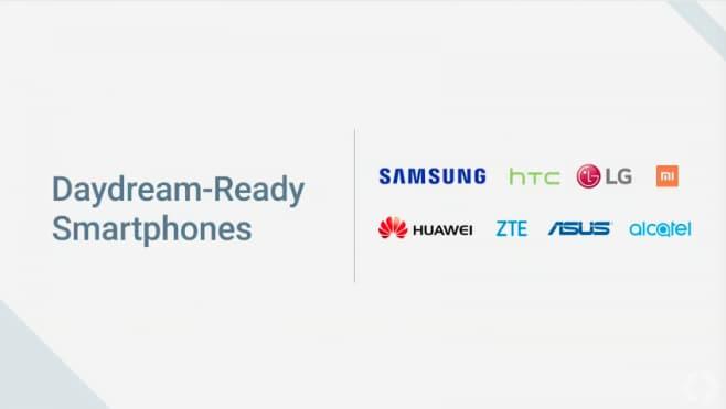 Smartphone compatibili Daydream