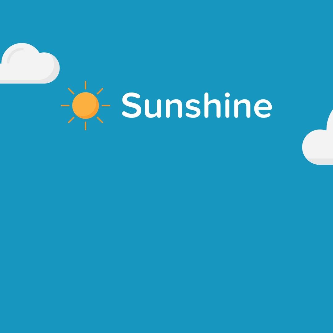 Sunshine, l'app per il meteo più diretta che ci sia, sbarca su Android (foto)