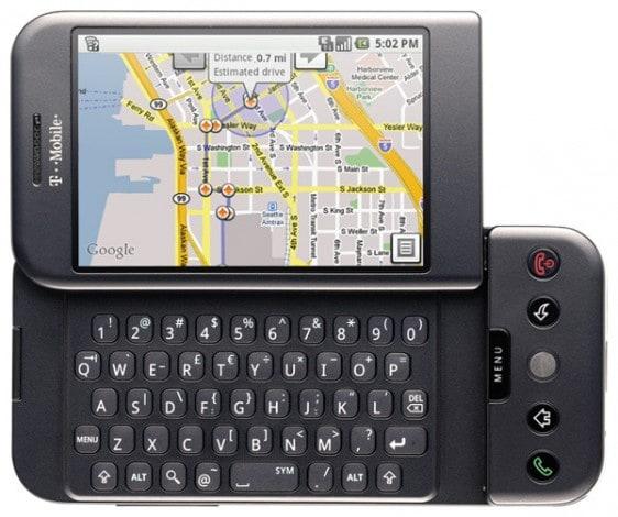 T-Mobile G1 alternativa