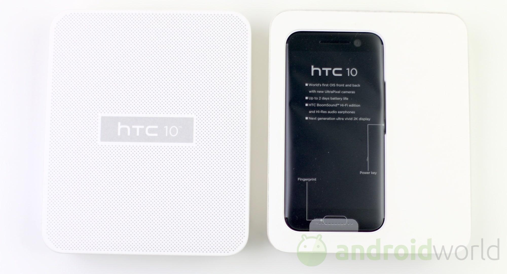 Unboxing HTC 10 – 2