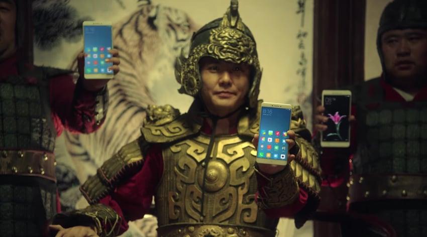 Xiaomi Mi Max video teaser