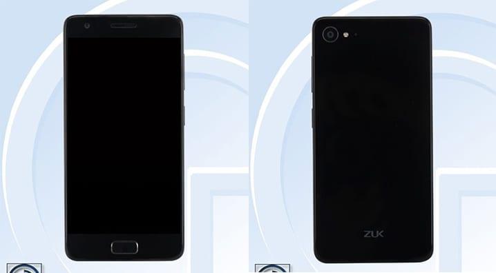 ZUK Z2 render