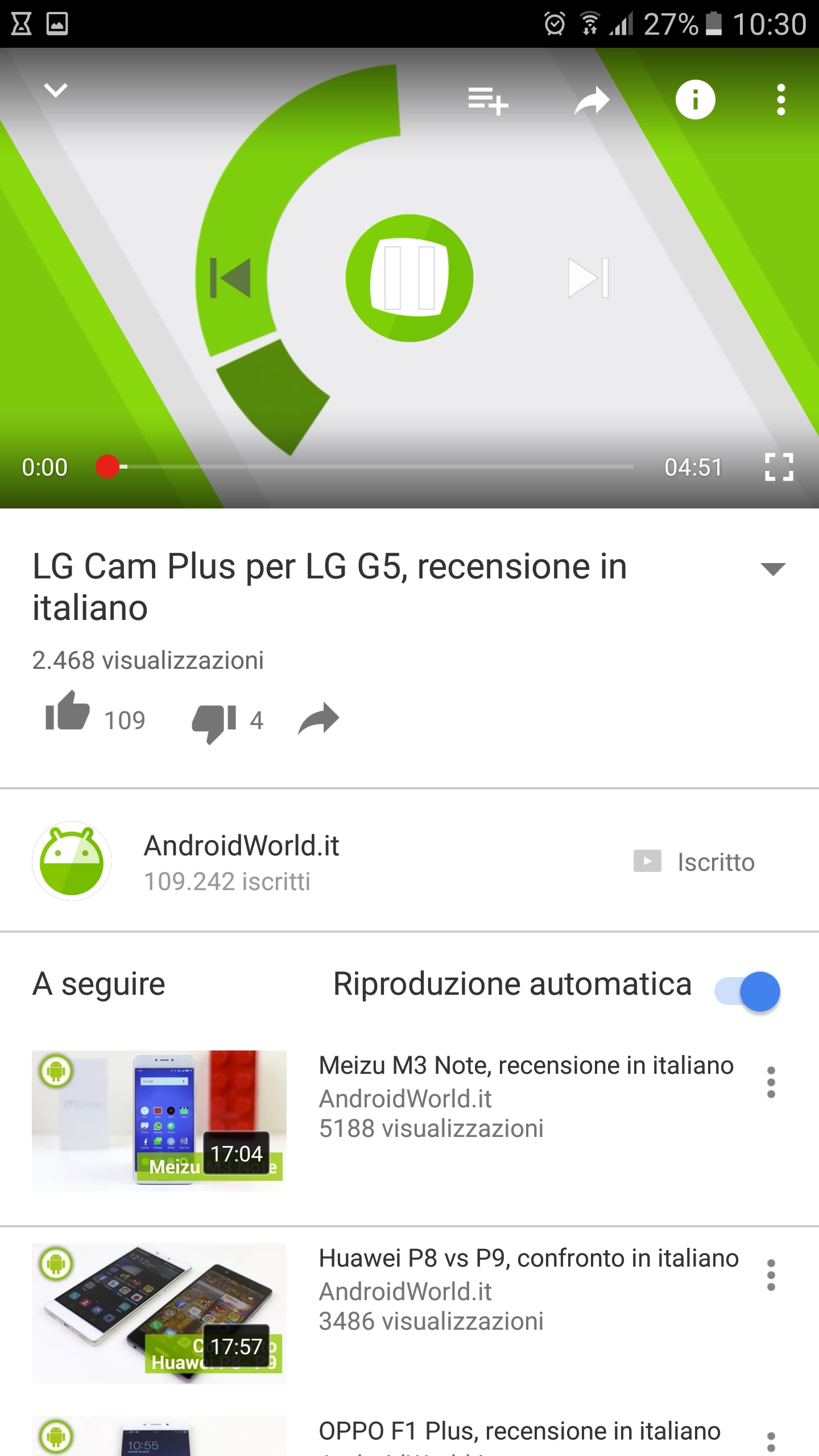 autoplay riproduzione automatica youtube – 2