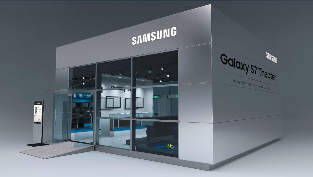 Samsung in giro per l'Italia con il tour Galaxy S7 Theater