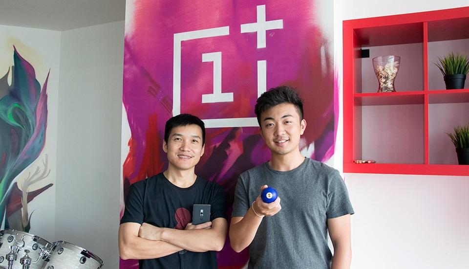 I giovanissimi Pete Lau e Carl Pei. Foto via Engadget