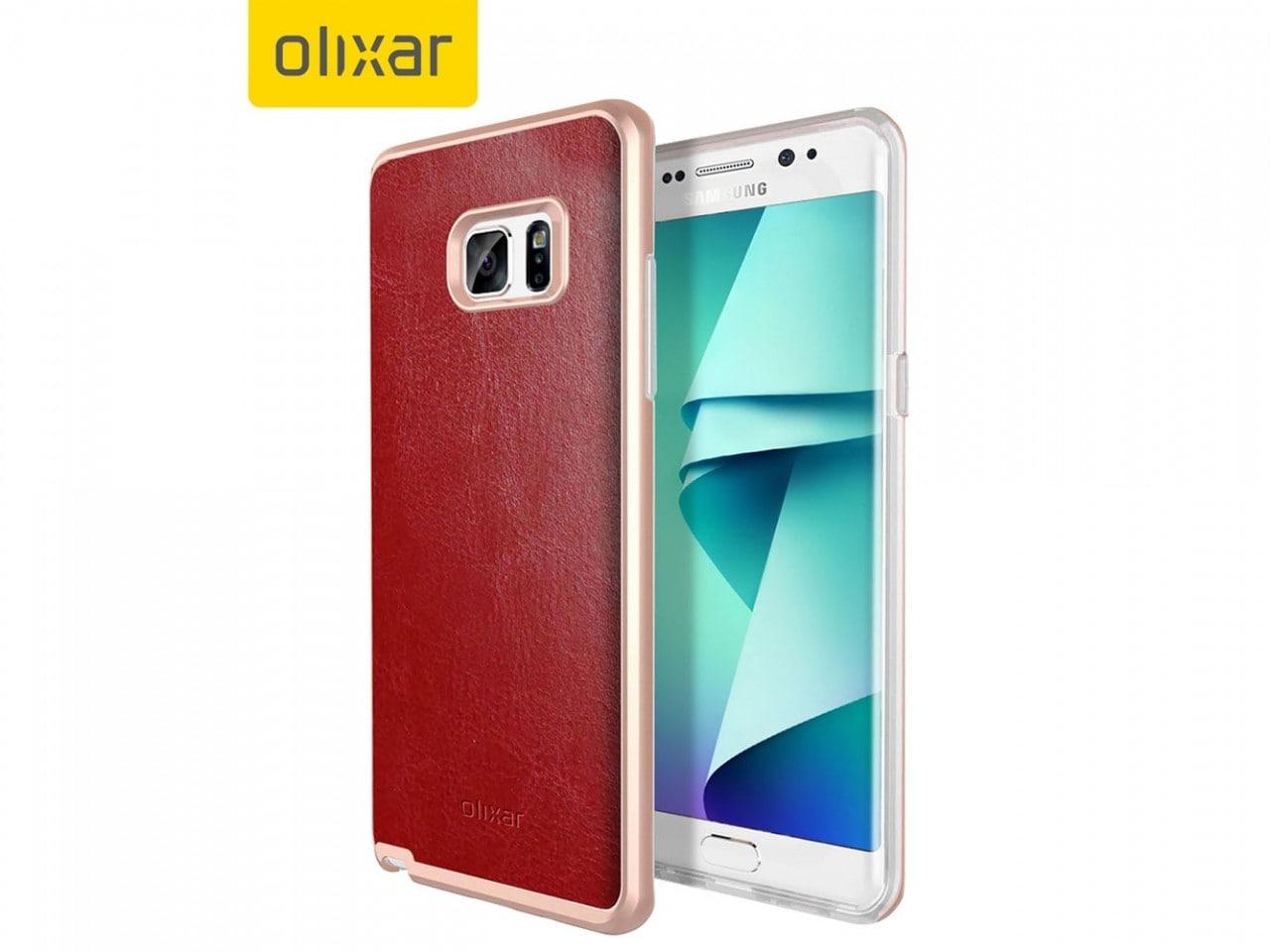 Queste cover svelano (nuovamente) il design di Galaxy Note 7 (foto)