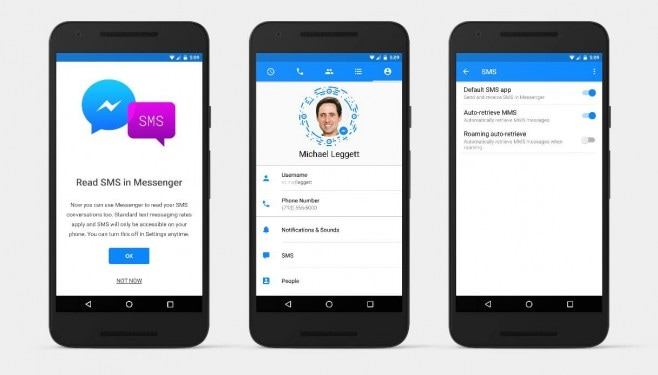 Facebook Messenger SMS - 1
