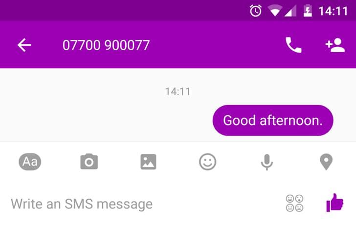 Nell'ultima beta di Facebook Messenger c'è il supporto agli SMS
