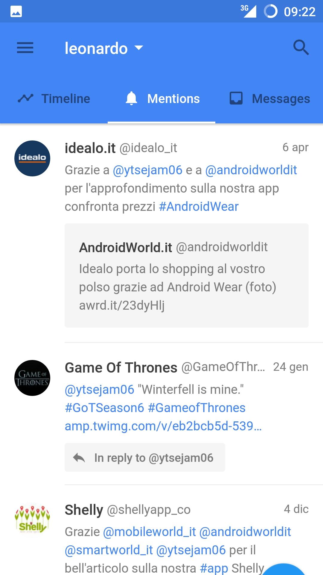 App alternativa per Twitter completa e Material: Flamingo | AndroidWorld