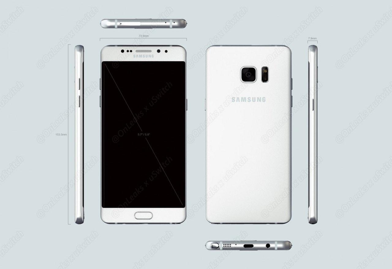 Galaxy Note 7 (SM-N930F) confermato dal sito Samsung, ma parliamo anche di Galaxy S8...