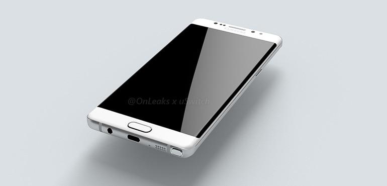 """Galaxy Note 7: 6 GB di RAM, 4.000 mAh e 5,8"""" dual edge display QHD a 799€?"""