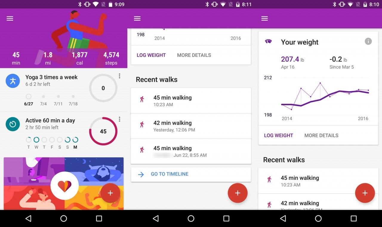 Google Fit aggiornamento giugno