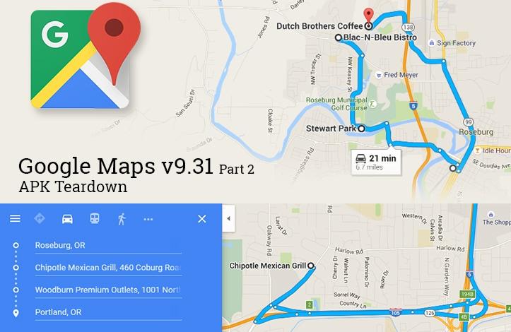 Google Maps Teardown v9.31