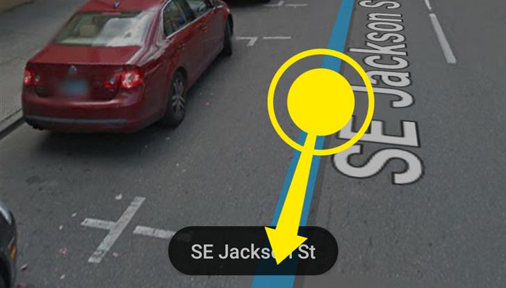 Google Street View movimento