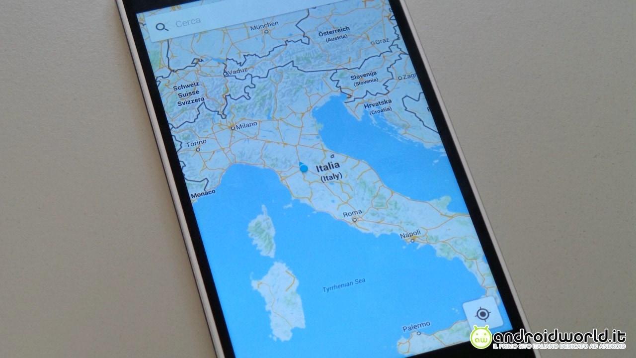 Avete anche voi questa nuova grafica all'interno di Google Maps? (foto)