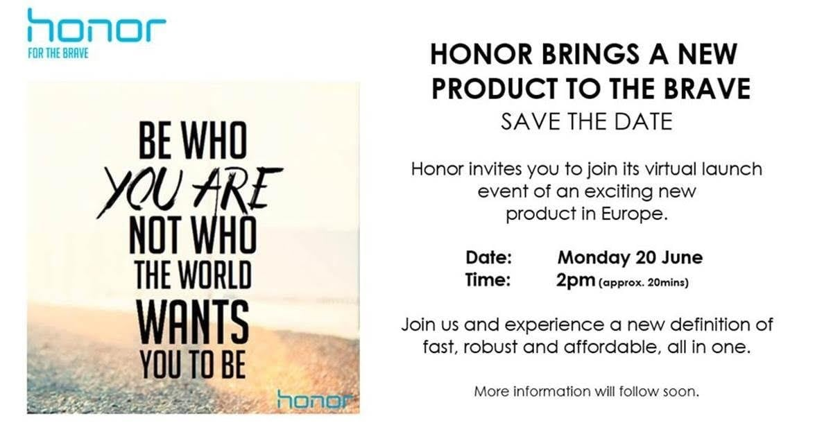 Honor evento 20 giugno 2016