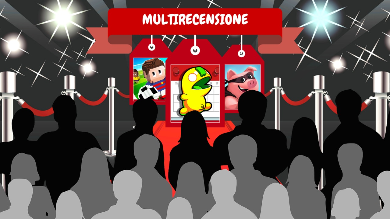 Multirecensione - Blocky Soccer, Leap Day, Coin Master