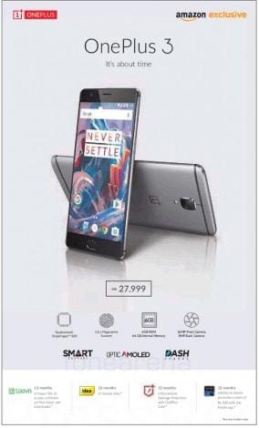 OnePlus-3-India-price