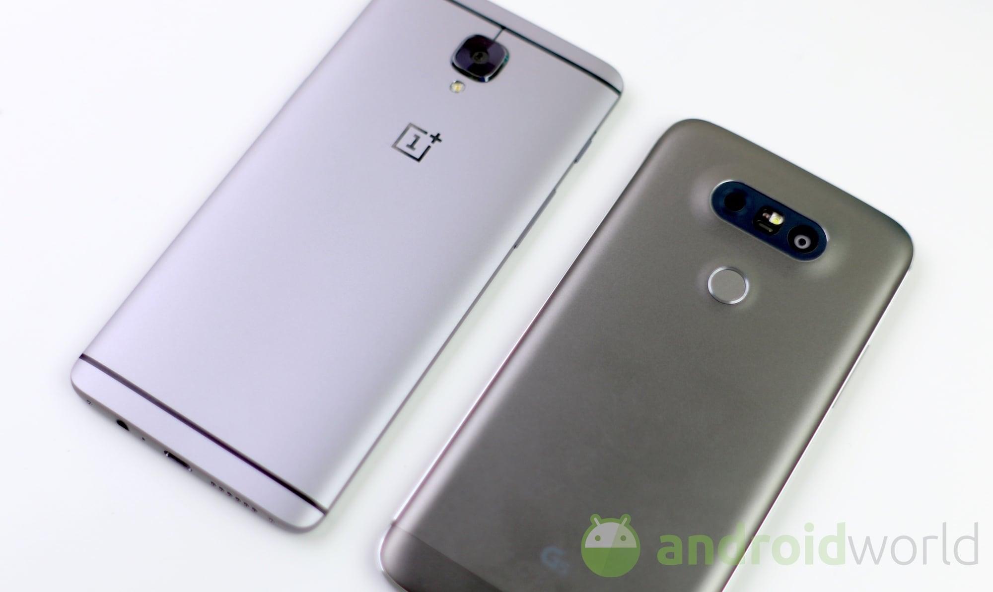 OnePlus 3 – LG G5 – 6