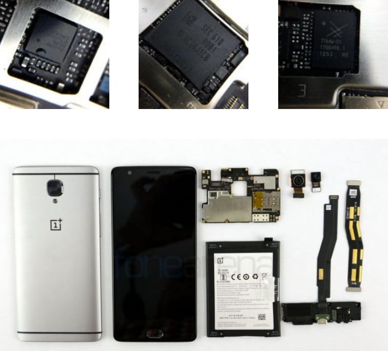 Teardown OnePlus 3