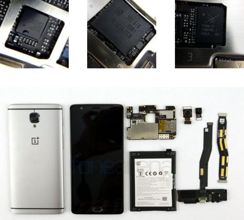 Teardown OnePlus 3