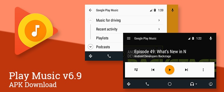 Play Music Podcast android auto - 1