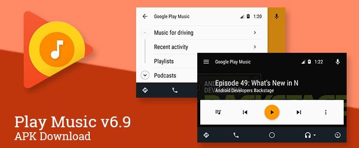 Play Music 6.9 porta i podcast anche su Android Auto (foto)