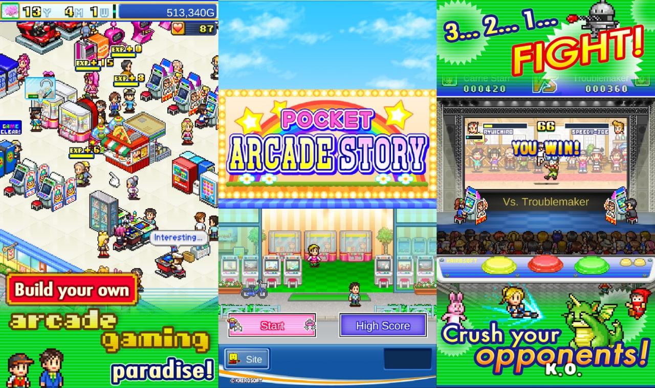 Il vostro sogno è quello di dirigere una sala giochi? Ecco Pocket Arcade Story! (foto)