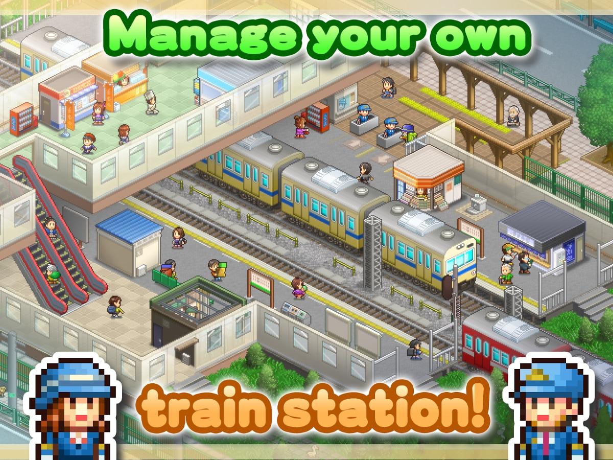 Con Station Manager di Kairosoft potete gestire la vostra stazione ferroviaria, solo su Android! (foto e video)
