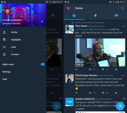 Twitter-app-night-mode
