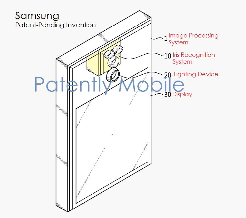 samsung-iris-scanning-patent